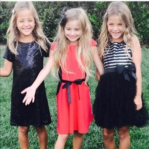 New Biscotti Black holiday Dress